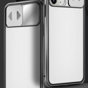 iPhone SE2 8 7 kaamera kaitsega magnetiga 360 umbris 7