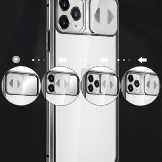 iPhone SE2 8 7 kaamera kaitsega magnetiga 360 umbris 8