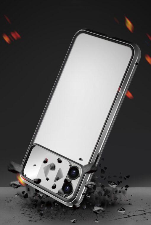 iPhone SE2 8 7 kaamera kaitsega magnetiga 360 umbris 9