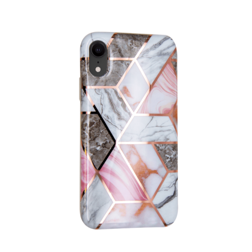 iPhone XR kaaned silikoonist Cosmo Marble 4