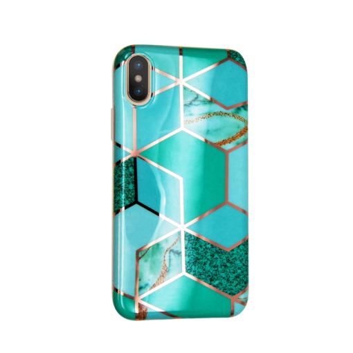 iPhone XS ja X kaaned silikoonist Cosmo Marble 2