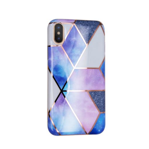 iPhone XS ja X kaaned silikoonist Cosmo Marble 3