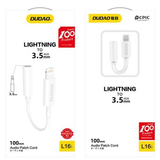 iPhone kõrvaklapi adapter lightning to 3.5mm 4