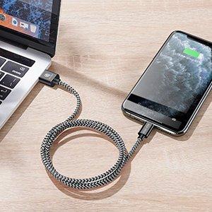 5x USB – iPhone laadija juhe lightning Dux Ducis 2x 1m 2x 2m 1x 3m 2A 12