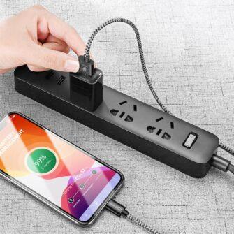 5x USB – iPhone laadija juhe lightning Dux Ducis 2x 1m 2x 2m 1x 3m 2A 2