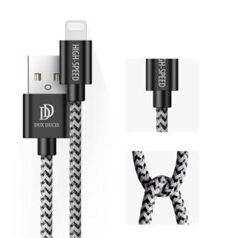 5x USB – iPhone laadija juhe lightning Dux Ducis 2x 1m 2x 2m 1x 3m 2A 3