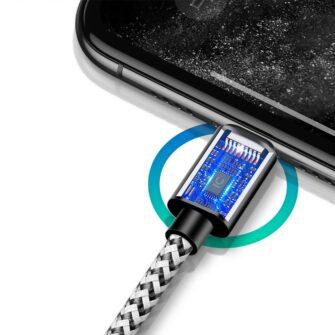 5x USB – iPhone laadija juhe lightning Dux Ducis 2x 1m 2x 2m 1x 3m 2A 5