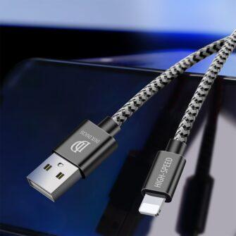 5x USB – iPhone laadija juhe lightning Dux Ducis 2x 1m 2x 2m 1x 3m 2A 7