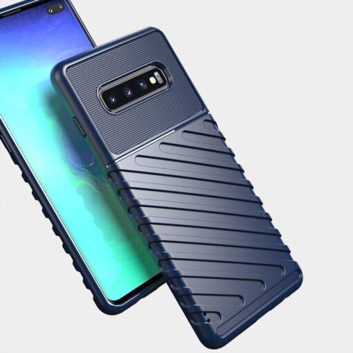 Samsung S10 Plus tugev umbris silikoonist must 7