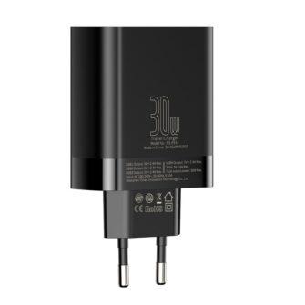 Seinalaadija 4x USB Mirror Lake Baseus 30W 6A CCJMHB B01 must 3