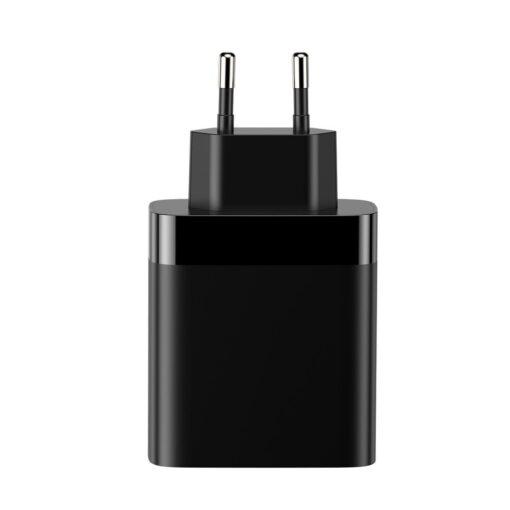 Seinalaadija 4x USB Mirror Lake Baseus 30W 6A CCJMHB B01 must 6