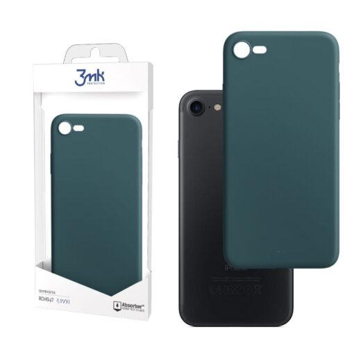 apple iphone 7 8 SE 2020 kaaned silikoonist 3mk roheline