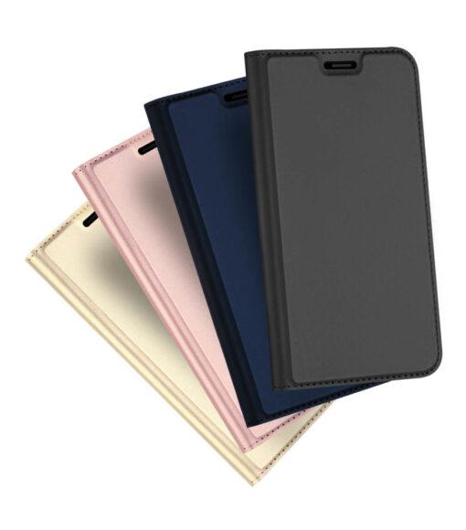 iPhone XR kaaned DUX DUCIS Skin Pro Bookcase kuldne 10