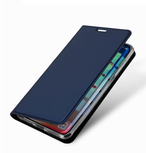 iPhone XR kaaned DUX DUCIS Skin Pro Bookcase kuldne 12