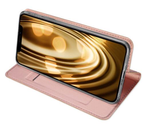 iPhone XR kaaned DUX DUCIS Skin Pro Bookcase kuldne 14