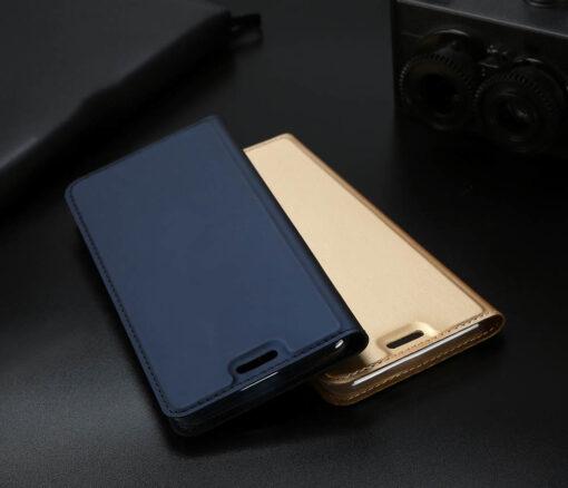 iPhone XR kaaned DUX DUCIS Skin Pro Bookcase kuldne 16