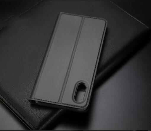 iPhone XR kaaned DUX DUCIS Skin Pro Bookcase kuldne 17