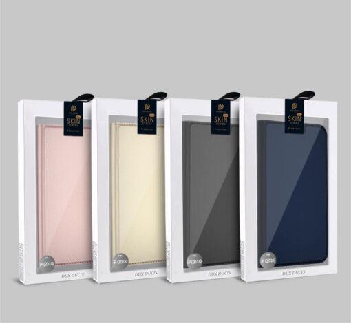 iPhone XR kaaned DUX DUCIS Skin Pro Bookcase kuldne 20