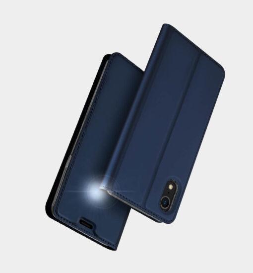 iPhone XR kaaned DUX DUCIS Skin Pro Bookcase kuldne 9