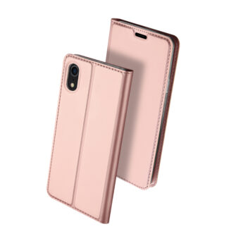 iPhone XR kaaned DUX DUCIS Skin Pro Bookcase roosa 1