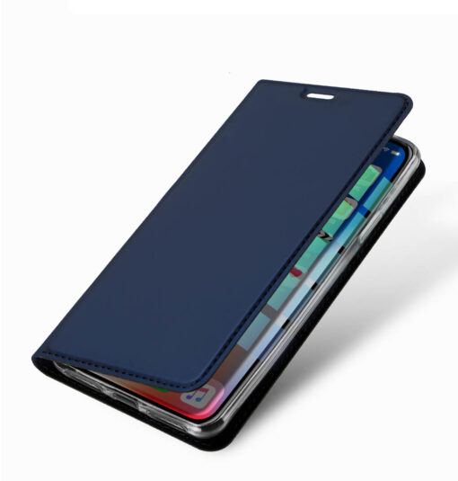 iPhone XR kaaned DUX DUCIS Skin Pro Bookcase roosa 13