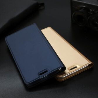iPhone XR kaaned DUX DUCIS Skin Pro Bookcase roosa 16