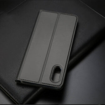 iPhone XR kaaned DUX DUCIS Skin Pro Bookcase roosa 17