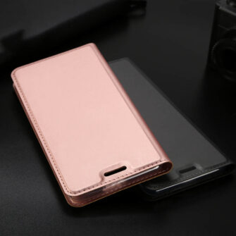 iPhone XR kaaned DUX DUCIS Skin Pro Bookcase roosa 18