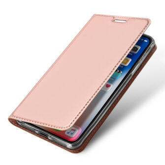 iPhone XR kaaned DUX DUCIS Skin Pro Bookcase roosa 3