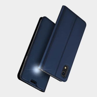 iPhone XR kaaned DUX DUCIS Skin Pro Bookcase roosa 9