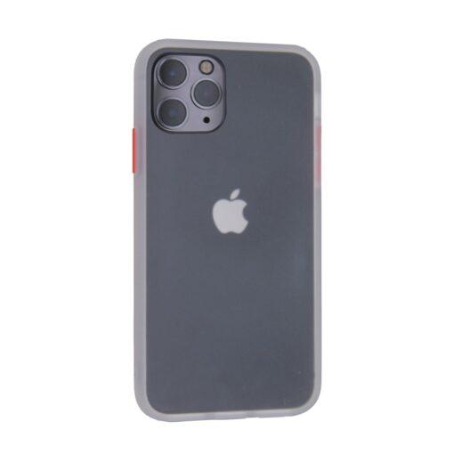 iphone 12 Pro umbris silikoonist valge