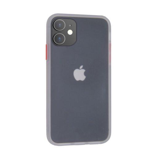 iphone 12 mini umbris silikoonist valge