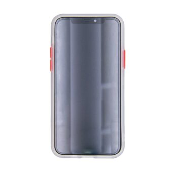 iphone 12 mini umbris silikoonist valge eest
