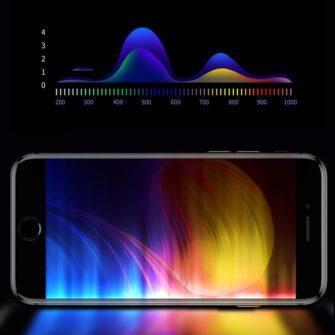 2tk iPhone SE 2020 87 kaitseklaas taisekraan sinise valguse kaitsega must 13