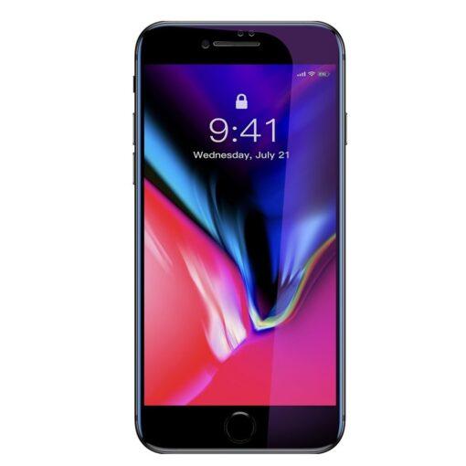 2tk iPhone SE 2020 87 kaitseklaas taisekraan sinise valguse kaitsega must 3