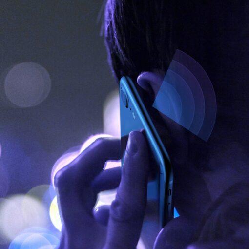 2tk iPhone SE 2020 87 kaitseklaas taisekraan sinise valguse kaitsega valge 21