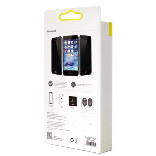 2tk iPhone SE 2020 87 kaitseklaas taisekraan sinise valguse kaitsega valge 23