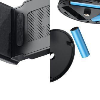 360 statiiv Baseus 360 rotation photo gimbal tripod portable phone holder for photos face tracking stabilizer YouTube TikTok must SUYT B01 16