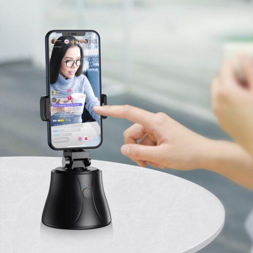 360 statiiv Baseus 360 rotation photo gimbal tripod portable phone holder for photos face tracking stabilizer YouTube TikTok must SUYT B01 2
