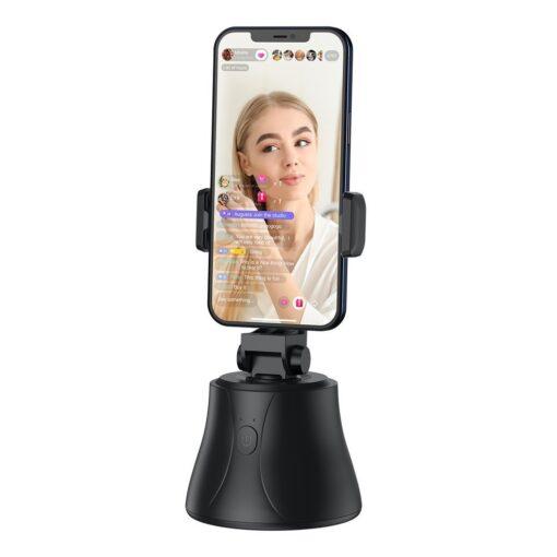 360 statiiv Baseus 360 rotation photo gimbal tripod portable phone holder for photos face tracking stabilizer YouTube TikTok must SUYT B01 7