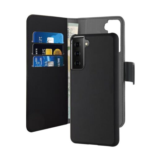 Case PURO kaaned Detachable 2in1 Samsung Galaxy S21 black