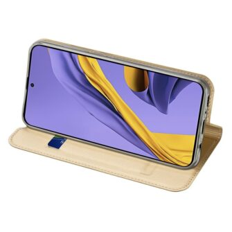 DUX DUCIS Skin Pro Bookcase type case for Samsung Galaxy A71 golden 4