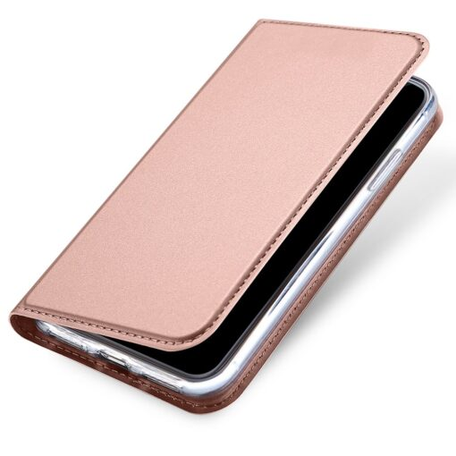 DUX DUCIS Skin Pro Bookcase type case for iPhone XS X pink 3