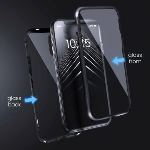 Huawei P30 magnetiga 360 kaaned must 1