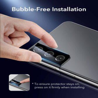 Kaamera kaitseklaas Samsung Galaxy S21 ESR 2tk 4