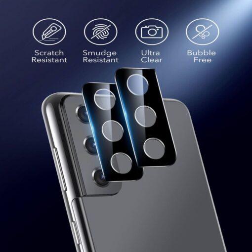 Kaamera kaitseklaas Samsung Galaxy S21 ESR 2tk 5