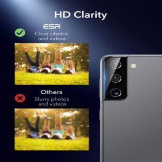 Kaamera kaitseklaas Samsung Galaxy S21 ESR 2tk 6