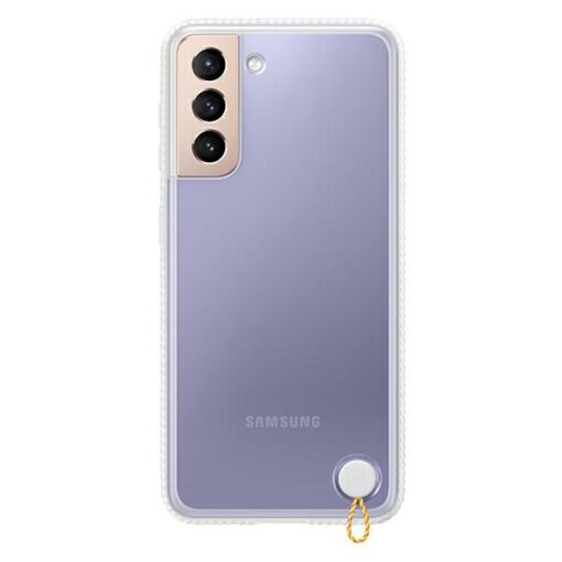 Kaaned Samsung Galaxy S21 EF GG991CW white white Clear Protective Cover