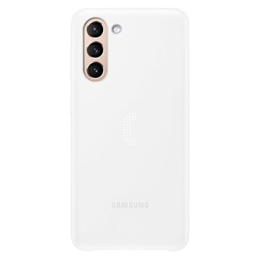 Kaaned Samsung Galaxy S21 EF KG991CW white white LED Cover 1