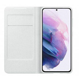 Kaaned Samsung Galaxy S21 EF NG991PJ light gray light gray LED View Cover 2